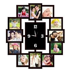 personalized clocks with pictures personalized 12pc wall clock 15 personalized gifts corporate