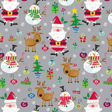 container store christmas wrapping paper santa gift wrap the container store