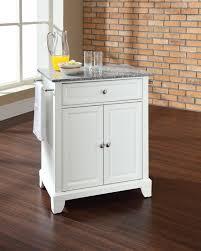 alexandria kitchen island modern crosley alexandria kitchen island solid granite top portable