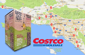Simi Valley Map Costco California Map California Map