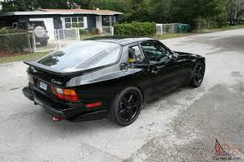 porsche 944 black porsche 944 turbo track ready
