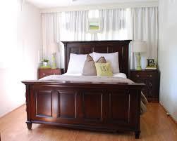 Mahogany Bed Frames Bedroom Excellent Brown Solid Mahogany Master Bed Frame