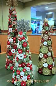 button trees featuring retired stin up buttons and