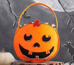 halloween treat bags u0026 trick or treat bags pottery barn kids