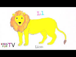 coloring pages kids fun learning color lion drawing