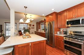 bartlett split level kitchen remodel by rosseland remodeling