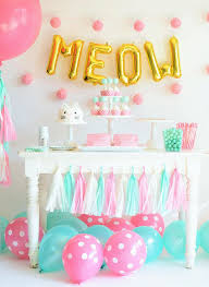 theme decor ideas best 25 girl birthday decorations ideas on 1st