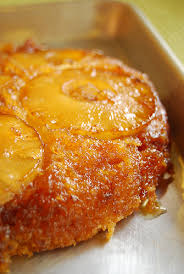 brown butter pineapple upside down cake