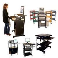 Compact Computer Cabinet All Metal Computer Desks U0026 Carts