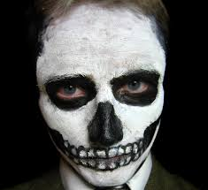 Skeleton Face Painting For Halloween by Unbelievably Fantastic Face Painting Ideas For Beginners