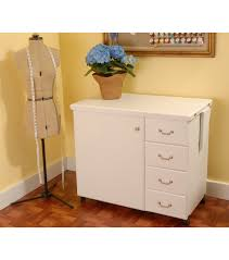 Sewing Cabinet With Lift by Norma Jean White Sewing Cabinet Joann