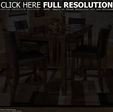 rectangle pub height tables home table decoration
