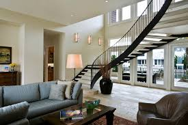 Modern Design Staircase Stair Rail Ideas Staircase Modern With Wood Treads Steel Stairs