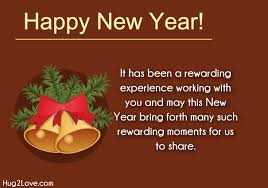 business new year messages and corporate new year greetings