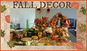 my fall decorations dollar tree dollar store youtube