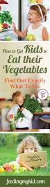 how to get kids to like to eat their vegetables