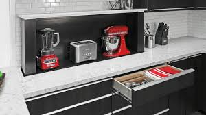 kitchen appliance storage cabinet appliance storage systems for the kitchen of today