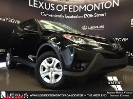 lexus nx and toyota rav4 used black 2013 toyota rav4 awd le review wainwright alberta