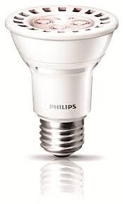 philips 426122 8 watt 50 watt airflux par20 led 2700k warm