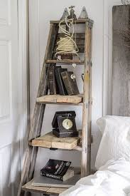 Wooden Ladder Bookshelf Plans by The 25 Best Wooden Ladder Shelf Ideas On Pinterest Old Ladder