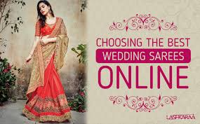 how to pick the best designer wedding sarees online