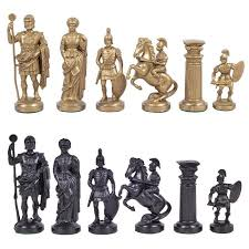 ancient chess medieval and ancient historical theme chess sets