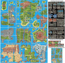 The Best Map Of The World by Map Of The Pokemon World Pokemon