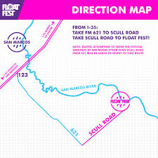 Maps Direction Float Fest 2017 U2022 July 22 U0026 23 U2022 San Marcos Tx