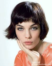 how to cut hair with rounded corners in back classy bob with rounded corners and an out and upward flip short