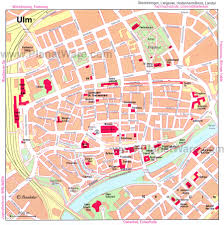 Map Of Germany Cities by Ulm Map