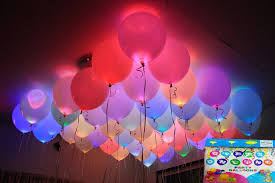 gifts in balloons jiada led balloons for party festival celebrations set of 25