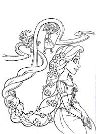 Tangled Color Pages Funycoloring Coloring Pages Tangled