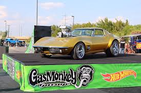 gas monkey cars holley and weiand help power gas monkey garage wheels corvette