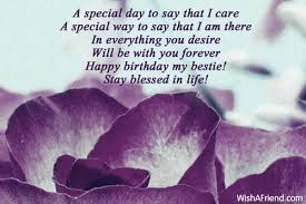 a special day to say that best friend birthday wish