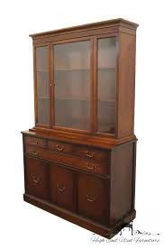 mahogany china cabinet furniture high end used furniture 1940 s antique 50 duncan phyfe mahogany
