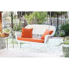 White Resin Wicker Loveseat Best 25 Wicker Porch Swing Ideas On Pinterest Porch Swing Beds