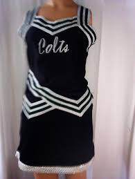 Colts Cheerleader Halloween Costume 6 Pairs Black Colts Cheerleader Uniforms Halloween Costume