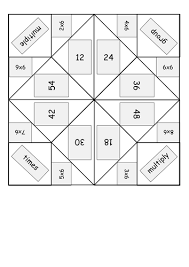 multiplication table games 3rd grade times multiplication table origami fortune tellers word and pdf