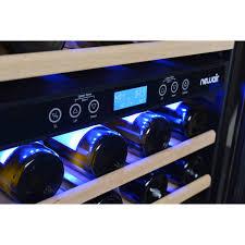 NewAir AWR460DB 46Bottle DualZone BuiltIn Compressor Wine