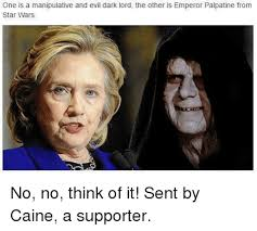 Emperor Palpatine Meme - one is a manipulative and evil dark lord the other is emperor