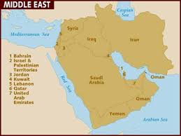 middle east map interactive map of middle east