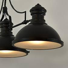 Industrial Looking Lighting Fixtures Baycheer Hl416343 Industrial Retro Vintage Style Three Light Pool