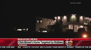 halloween city tarzana 3 armed men invade singer chris brown u0027s home in tarzana cbs los