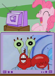 Mr Krabs Meme - 306542 meme mr krabs pinkie pie safe spongebob squarepants