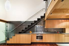 interior simple stairs design for small house design white color