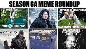 Twd Memes - the walking dead season 6a meme roundup the walking dead