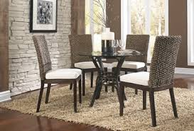 Indoor Wicker Dining Room Furniture WickerCentralcom - Wicker dining room chairs