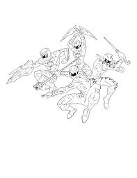 power rangers dino thunder coloring pages baby