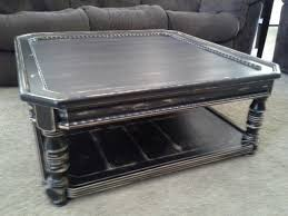 distressed black end table 20 fresh ideas for distressed square coffee table table design ideas