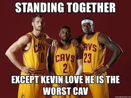 Kevin Love Meme - kyrie irving kevin love lebron james meme generator
